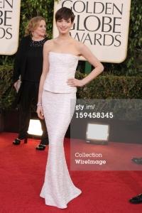 Anne Hathaway - Golden Globes 2013