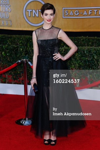 Anne Hathaway - SAGs 2013