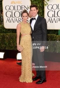 Emily Blunt - Golden Globes 2013