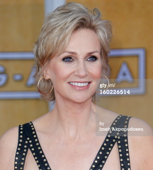 Jane Lynch - face - SAGs 2013