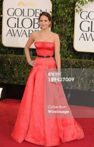 Jennifer Lawrence - Golden Globes 2013