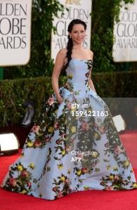 Lucy Liu - Golden Globes 2013