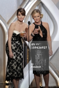 Tina Fey and Amy Poehler 2 - Golden Globes 2013