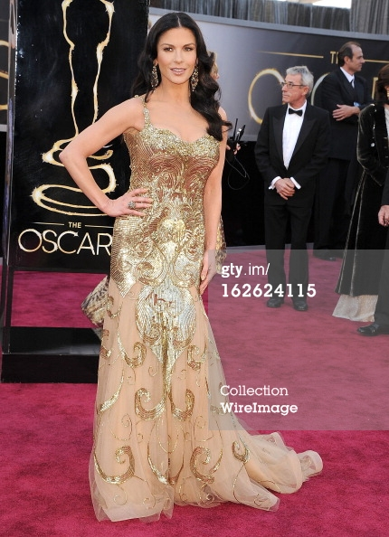 Catherine Zeta Jones - Oscars 2013