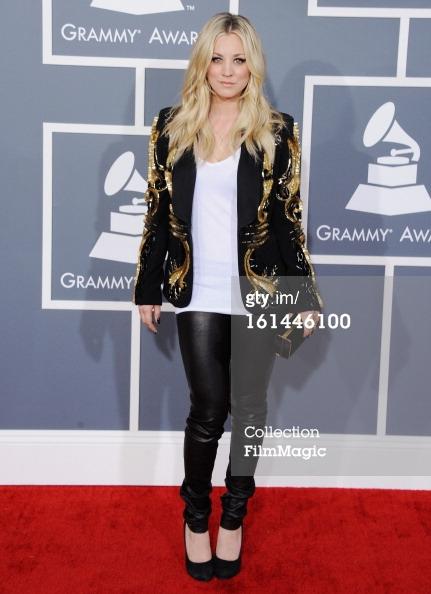 Kaley Cuoco - Grammys 2013