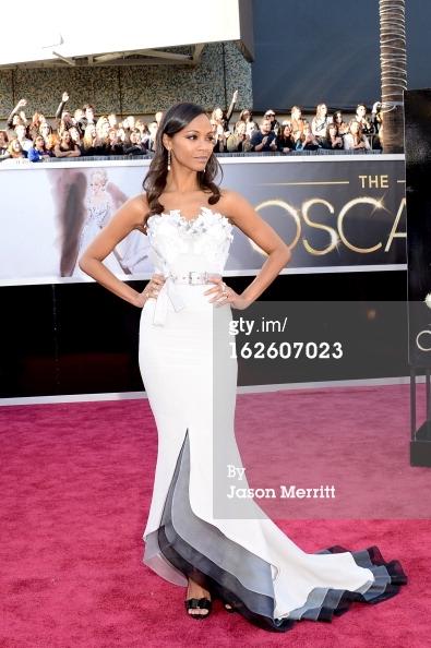 Zoe Saldana - Oscars 2013