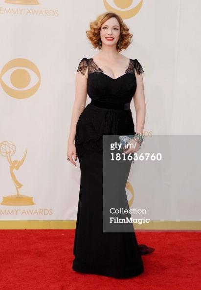 Emmys 2013 - Christina Hendricks