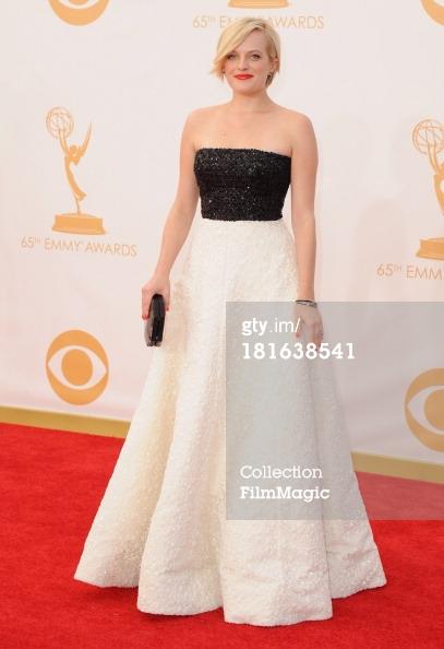 Emmys 2013 - Elizabeth Moss