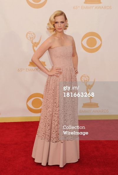 Emmys 2013 - January Jones