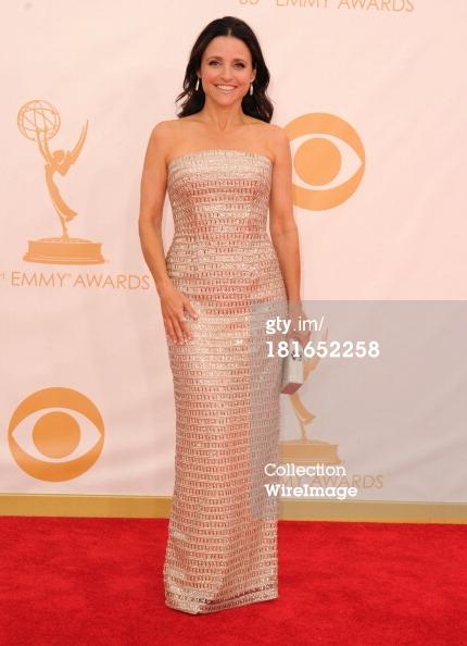 Emmys 2013 - Julia Louis-Dreyfus