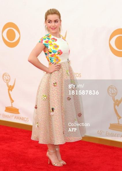 Emmys 2013 - Kiernan Shipka
