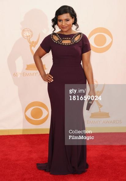 Emmys 2013 - Mindy Kaling