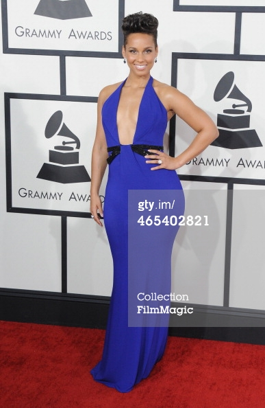 Alicia Keys Grammys 2014