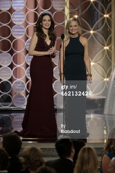 Amy Poehler 2 Golden Globes 2014