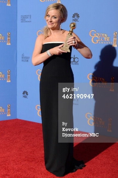 Amy Poehler 3 Golden Globes 2014