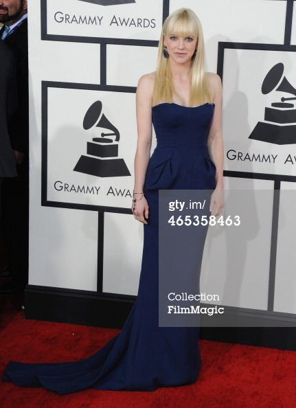 Anna Faris Grammys 2014
