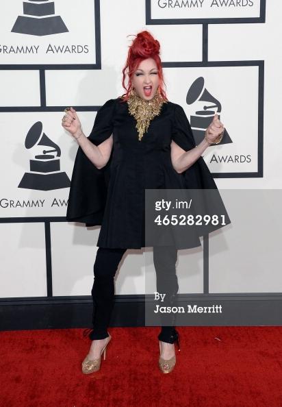Cyndi Lauper Grammys 2014