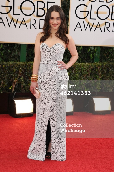 Emilia Clarke Golden Globes 2014