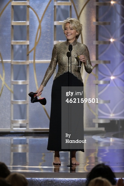 Emma Thompson Golden Globes 2014
