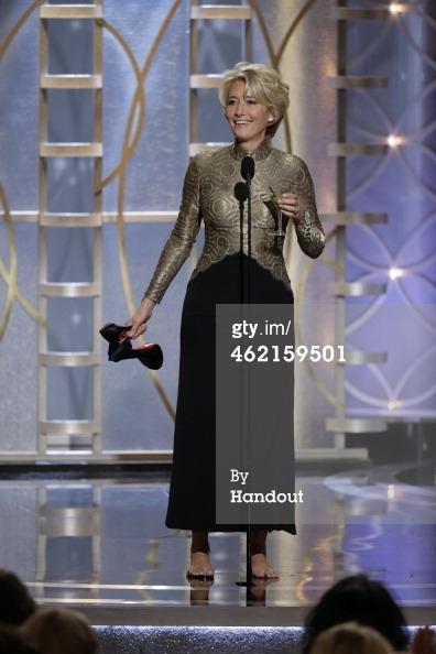 Emma Thompson Golden Globes 2014
