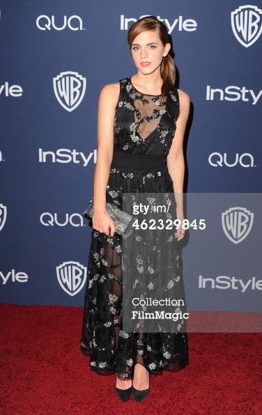 Emma Watson 2 Golden Globes 2014