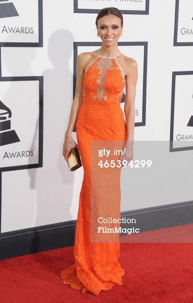 Giuliana Rancic Grammys 2014