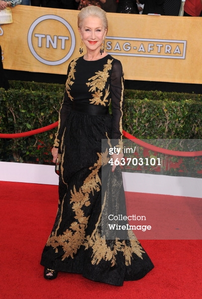 Helen Mirren SAGs 2014