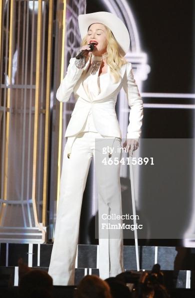 Madonna Grammys 2014 stage