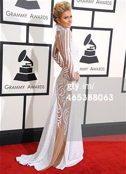 Paris Hilton Grammys 2014