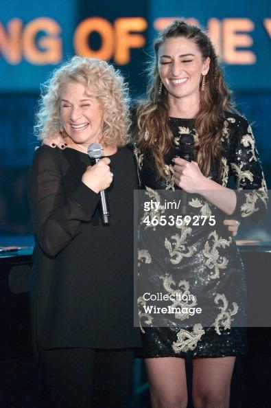 Sara Bareilles Grammys 2014 stage