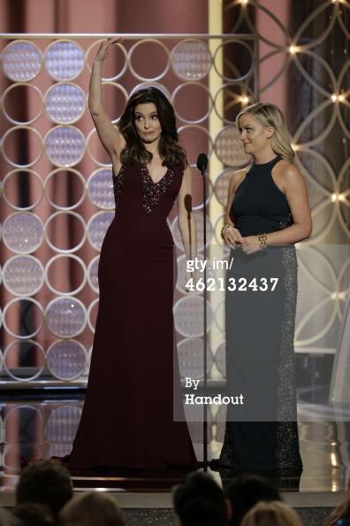 Tina Fey 2 Golden Globes 2014