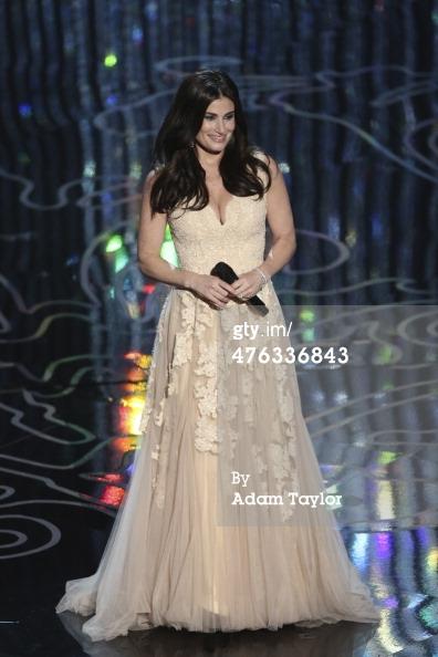 Oscars 2014 Idina Menzel stage