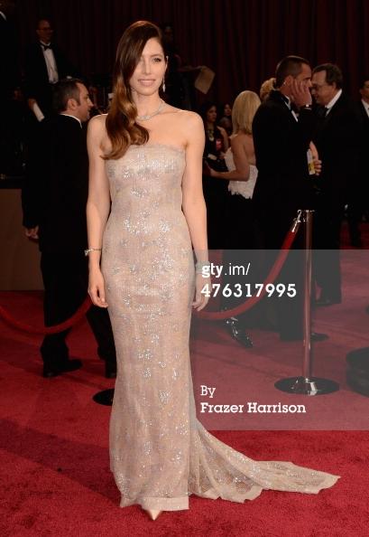Oscars 2014 Jessica Biel