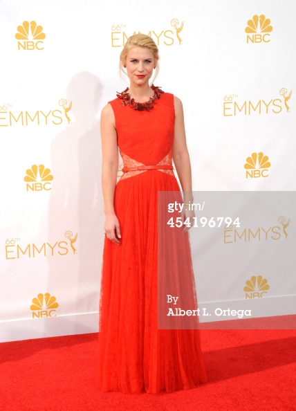 claire danes emmys 2014