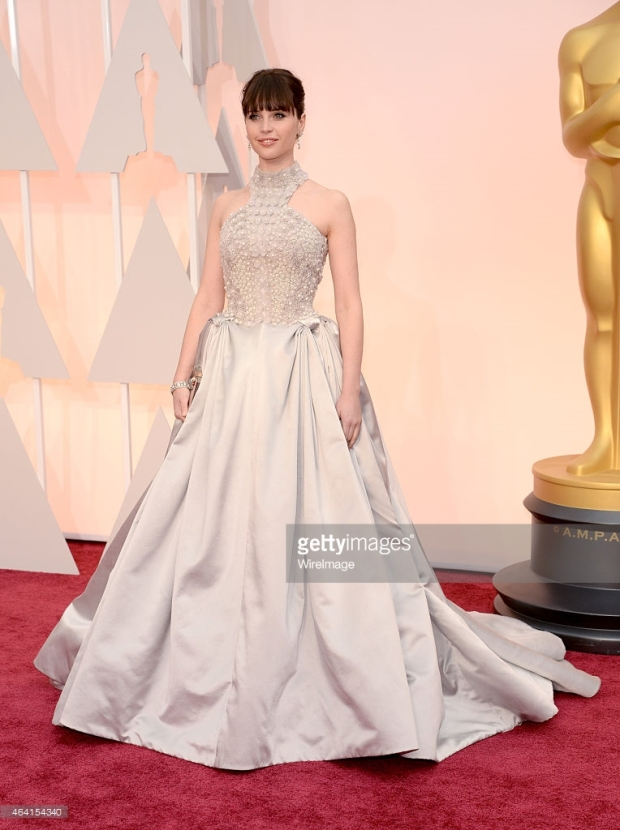 oscars 2015 felicity jones