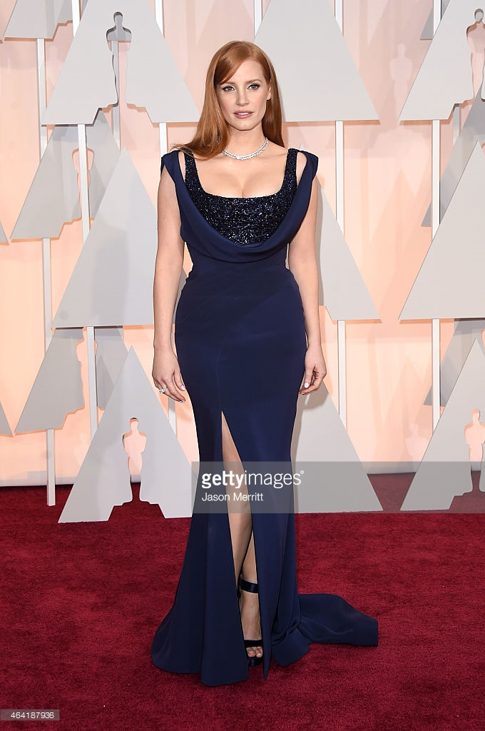 oscars 2015 jessica chastain